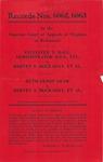 Sylvester T. Hall, Administrator d.b.n., etc., v. Hervey W. Hockaday, et al.; and, Ruth Olson Shaw v. Hervey S. Hockaday, et al.