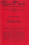 Callie H. Hawks v. Elizabeth T. DeHart, Administratrix, etc.