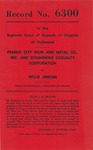 Peanut City Iron and Metal Company, Inc. and Bituminous Casualty Corporation v. Willie Jenkins