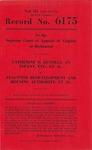 Catherine D. Runnels, an Infant, etc., et al. v. Staunton Redevelopment and Housing Authority, et al.