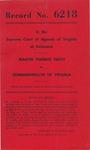 Martin Thomas Smith v. Commonwealth of Virginia