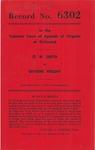 O. W. Smith v. Olivene Wright