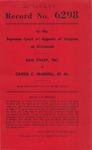Sam Finley, Inc., v. Carrie C. Waddell, et al.