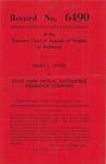 Mary L. White v. State Farm Mutual Automobile Insurance Company