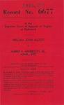 William John Elliott v. Harry P. Anderson, Jr., Administrator of the Estate of Walter Rufus Scott, deceased