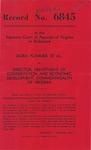 Dora Plummer, et al., v. Director, Department of Conservation and Economic Development, Commonwealth of Virginia
