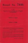 John W. Gaut v. Lewis C. Pyles