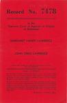 Margaret Handy Lawrence v. John Creig Lawrence