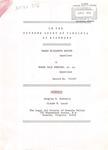 Sarah Elizabeth Watson v. Roger Dale Shepard, et al.
