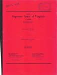 Harold Julius Upchurch v. Commonwealth of Virginia
