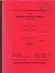 Willie Lloyd Turner v. Commonwealth of Virginia