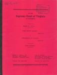 Susan Whitton Eckhart v. Commonwealth of Virginia