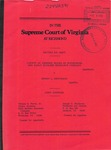 County of Amherst Board of Supervisors and Early Settlers Insurance Company v. Henry L. Brockman