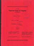 Daniel Lee Archer v. Commonwealth of Virginia