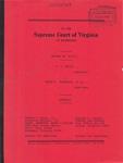 F. F. White v. Helen E. Pleasants, et al.