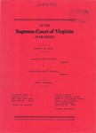 Claudia Elsia Jackson v. Commonwealth of Virginia