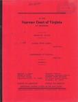 Michael Wayne Barker v. Commonwealth of Virginia