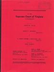 Harold R. Spainhour v. B. Aubrey Huffman & Associates, Ltd.