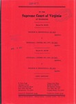 Windsor H. Mendenhall, et al., v. Douglas L. Cooper, Inc., etc., et al.; and, Douglas L. Cooper, Inc., etc., et al., v. Windsor H. Mendenhall, et al.