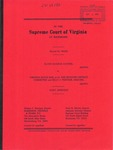 Elton Eugene Gunter v. Virginia State Bar, ex rel. The Seventh District Committee and Billy J. Tisinger, Esquire