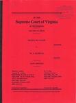Regina R. Sager v. W. T. Basham