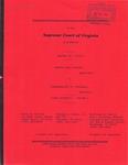 Ronald Dale Yeatts v. Commonwealth of Virginia