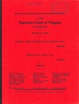 James T. Bush Construction Company, Inc. v. Amratlah R. Patel, et al.