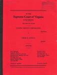Leasing Service Corporation v. Virgil B. Justice