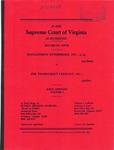 Management Enterprises, Inc., et al. v. The Thorncroft Company, Inc.