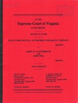 State Farm Mutual Automobile Insurance Company v. Mary K. Clatterbuck and John Doe