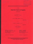 Billy Jones Yancey, et al. v. Doris S. Scales, et al.