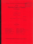 Evelyn R. Straley v. Urbanna Chamber of Commerce, et al.