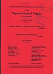 Virginia Physical Therapy Association, et al. v. Virginia Board of Medicine