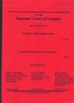 Jeffrey Theodore Kitze v. Commonwealth of Virginia