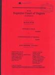 Richard E. Welsh v. Commonwealth of Virginia