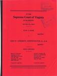 June A. Dade v. John W. Anderson, Administrator, etc., et al.