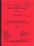 Susan M. Power v. Honorable Benjamin N. A. Kendrick, Chairman, Medical Malpractice Review Panel, et al.