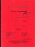 Benjamin H. Cooper, III, et al. v. William A. Kolberg, et al.