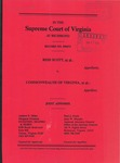 Reid Scott, et al. v. Commonwealth of Virginia