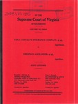 USAA Casualty Insurance Company, et al. v. Sherman G. Alexander, et al.