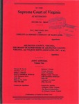 D.C. McClain, Inc. and Fidelity & Deposit Company of Maryland v. Arlington County, Virginia, the Board of Supervisors of Arlington County, Virginia, and Wilbur Smith Associates, Inc., et al.