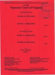 Gloria B. Williams v. David A. Garraghty; and, David A. Garraghty v. Gloria B. Williams