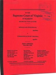 Ronald Lee Fitzgerald v. Commonwealth of Virginia