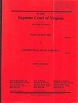 Tony Leslie Fry v. Commonwealth of Virginia