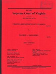 Virginia Department of Taxation v. Maurie L. Daughtry