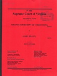 Virginia Department of Corrections v. James Dillon