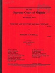 Norfolk and Western Railway Company v. Robert E. Puryear