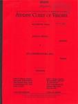 John H. Yancey v. JTE Constructors, Inc.