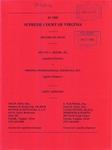 Melvin C. Moore, Jr. v. Virginia International Terminals, Inc.
