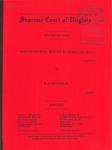 Shuttleworth, Ruloff & Giordano, P.C. v. R. J. Nutter, II